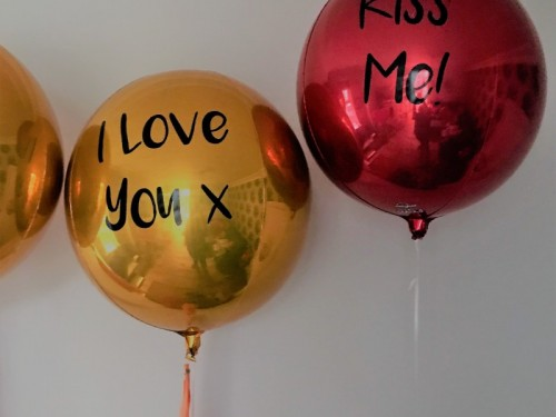 Personalised Orbz Balloon