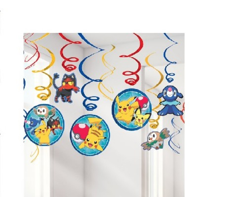 Decoration-Pokémon Hanging Swirls